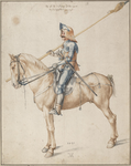 Soldier on Horseback ca. 1495.png