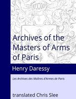 Archives of the Masters of Arms of Paris Slee Daressy.jpg