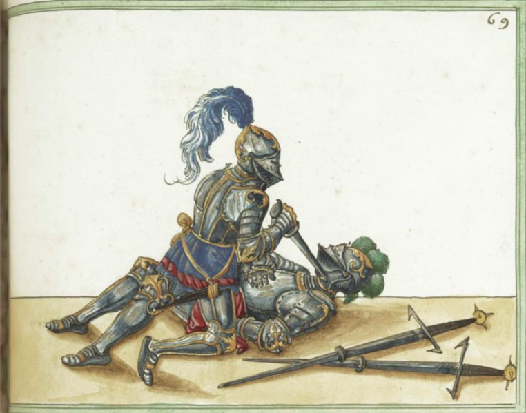 Are swords even effective against plated armors in medieval age